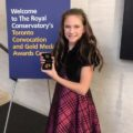 Sophie Mulvey, Recipient of Gold Medal for RCM Exam